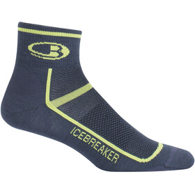 Icebreaker Multisport Ultra Light Mini - Calcetines Hombre - amarillo/azul